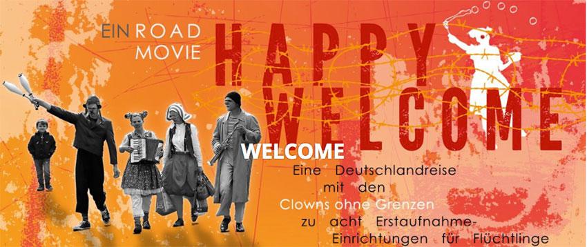 Linkziel zu: HAPPY WELCOME - ein Road Movie